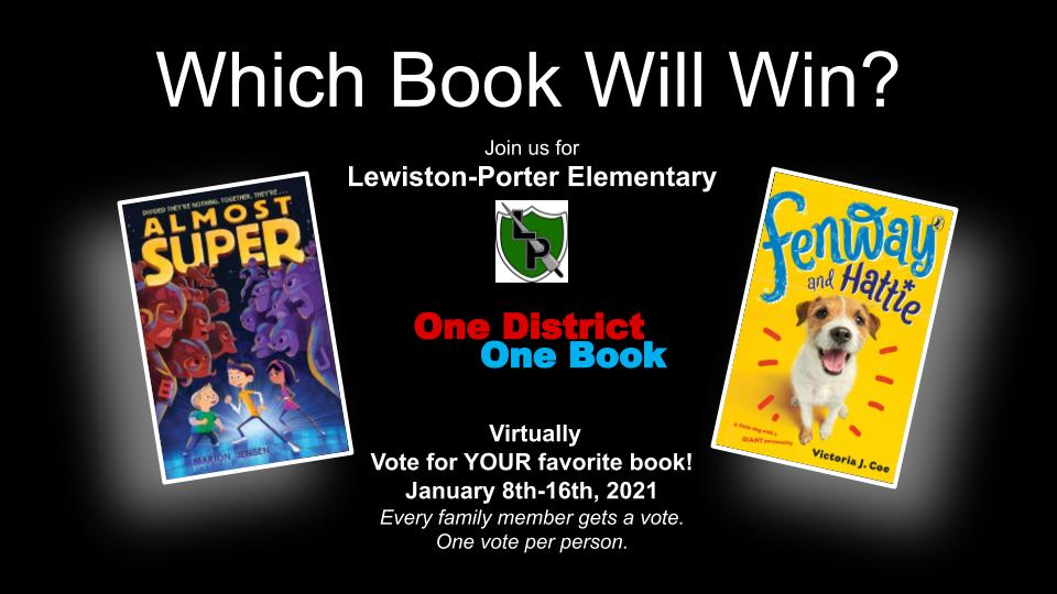 2021 One District, One Book voting