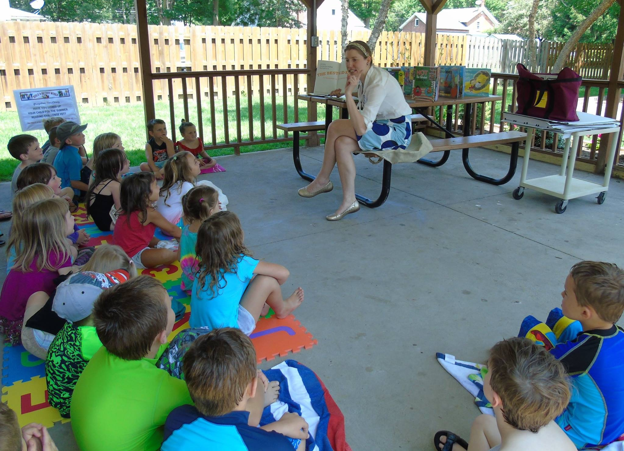 Storytime with Miss S. at Falkner Park